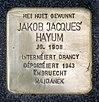 Stolpersteine Jakob Hayum Mondorf-les-Bains, 4 avenue Dr. Klein 01.jpg