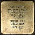 Stolpersteine Krefeld, Trude Levy (Neusser Straße 38).jpg