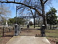 Stonewall Confederate Cemetery, sign.JPG