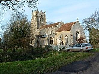 Little Stonham - Image: Stonham Parva Church of St Mary