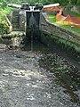 Stourbridge Canal empty below Lock No 19 at Stourton, Staffordshire - geograph.org.uk - 974471.jpg