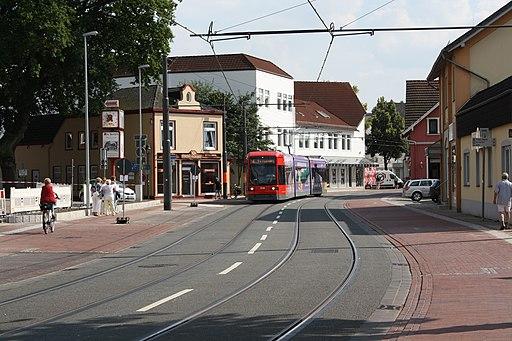 Straßenbahn Lilienthal, 1. Tag im Betrieb 1
