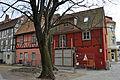 Stralsund, Auf dem Sankt Nikolaikirchhof, Badenstraße 50, 51, Hof (2012-03-18), by Klugschnacker in Wikipedia.jpg