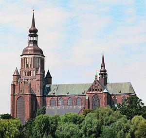 St. Mary's Church, Stralsund - Image: Stralsund Marienkirche 2006