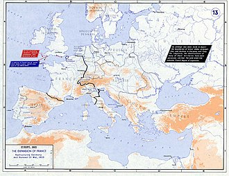 Napoleonic era - Strategic situation of Europe 1803