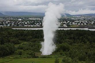 Kópavogur - Image: Strokkur 0