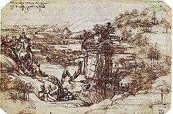 Leonardo'nun ilk resmi