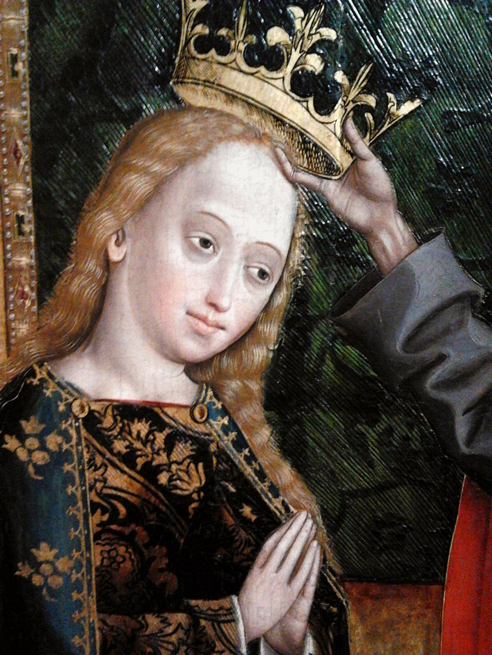 Stumme Coronation of Mary (detail)