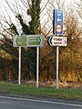 Sturminster Marshall, new signage on the A350 - geograph.org.uk - 1741455.jpg