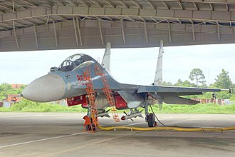 Vietnam People's Air Force - A VPAF Sukhoi-30MK2