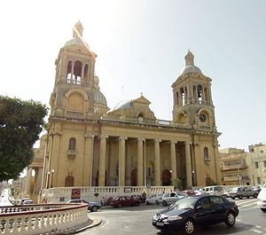 Paola, Malta - Church of Christ the King