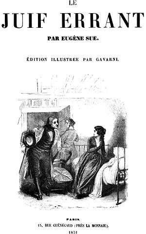 The Wandering Jew (novel) - Title page of an 1851 edition