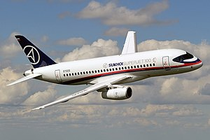 Sukhoi Superjet 100 - Wikipedia