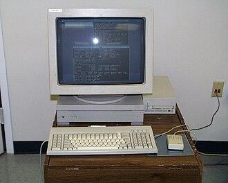 Sun-3 - A Sun 3/80 workstation