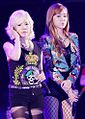 Sunny and Jessica Jung at the Yakult Korea Festival 01.jpg