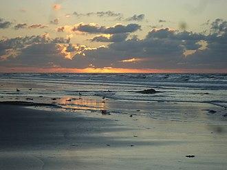 Wildwood, New Jersey - Sunrise in Wildwood