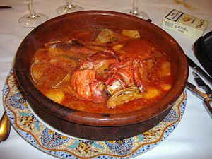 """Suquet"" de pescado Ingredientes Un ..."