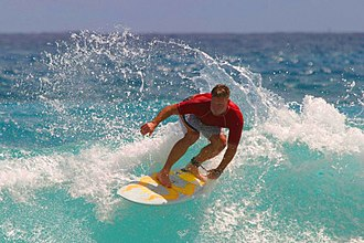 Colorfulness - Image: Surfing in Hawaii+50 saturation
