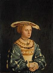 Portrait of Susanna von Brandenburg, Herzogin in Bayern