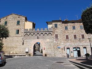 Suvereto - South gate of Suvereto