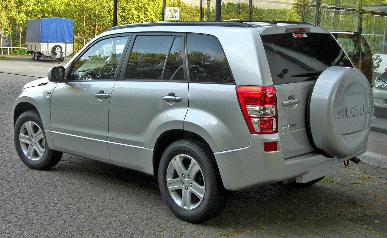 Plik:Suzuki Grand Vitara Rear.JPG