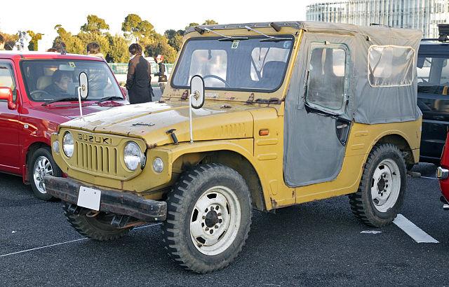 Suzuki Samurai Diesel Smokestack