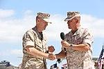 Swan takes command of MAG-11 150710-M-QU349-168.jpg