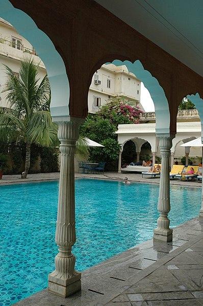 File Swimming Pool At Samode Haveli Heritage Hotel Wikimedia Commons