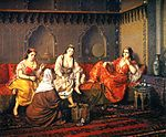 Swoboda-shopping in harem mid19th.jpg