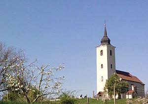 Slatina, Levice District - Church in Slatina