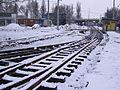 Szeged 1-es villamos építése Rókusi pályaudvar 2010-02-22.JPG