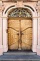 Tür des Rathauses in Bischofzell TG.jpg