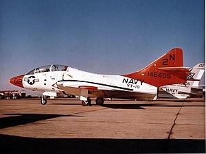 VT-10 - A VT-10 TF-9J Cougar at NAS Miramar, 1973.
