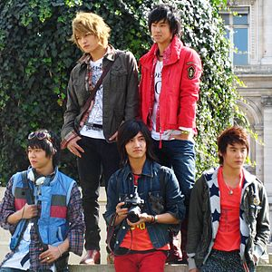 TVXQ - TVXQ in Paris, 2007