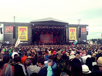 T in the Park - Image: T in the Park Festival 2010