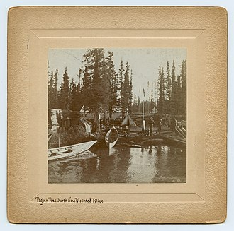 Tagish, Yukon - North-West Mounted Police post c. 1896–99