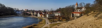 Talsi - View of Talsi town centre