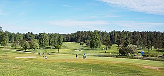 The Tammer Golf Course in the Ruotula district of Tampere, Finland. Tammer-Golf.jpg