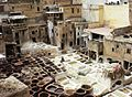 Tanneries of Fez Morocco.JPG