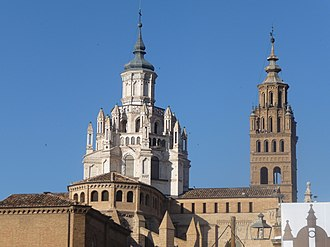 Lantern tower - Lantern tower on Tarazona's Cathedral, Aragón, (Spain).