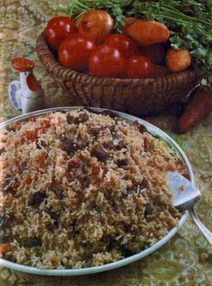Tatar cuisine - Pilaw (pilaf)