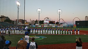 MCU Park - The park hosting the World Baseball Classic Qualifiers in 2016, after it was resurfaced with artificial turf