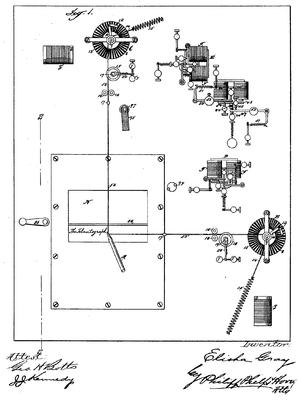 Telautograph - Telautograph patent schema