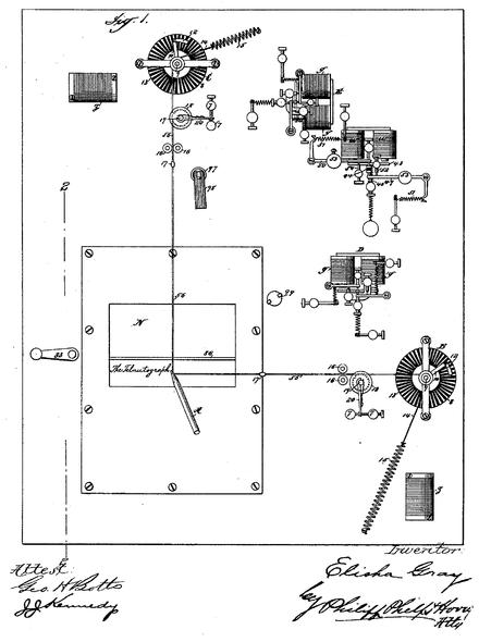 telautograph patent schema