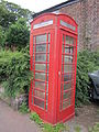 Telephone box at The Square, Ince, Cheshire (2).JPG