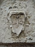 Templar cross Cour de la Commanderie La Rochelle.jpg