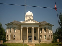 Tensas Parish Courthouse at St. Joseph