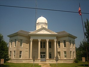 Tensas Parish, Louisiana - Image: Tensas Parish courthouse, LA