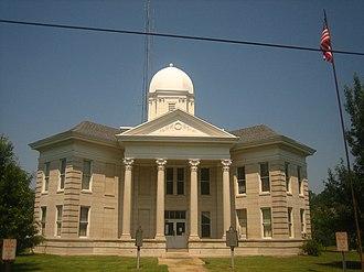 Tensas Parish, Louisiana - Image: Tensas Parish courthouse, LA