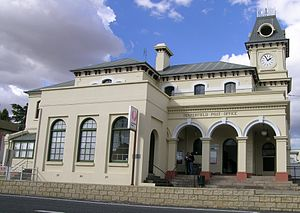 Tenterfield, New South Wales - Tenterfield Post Office, Rouse Street